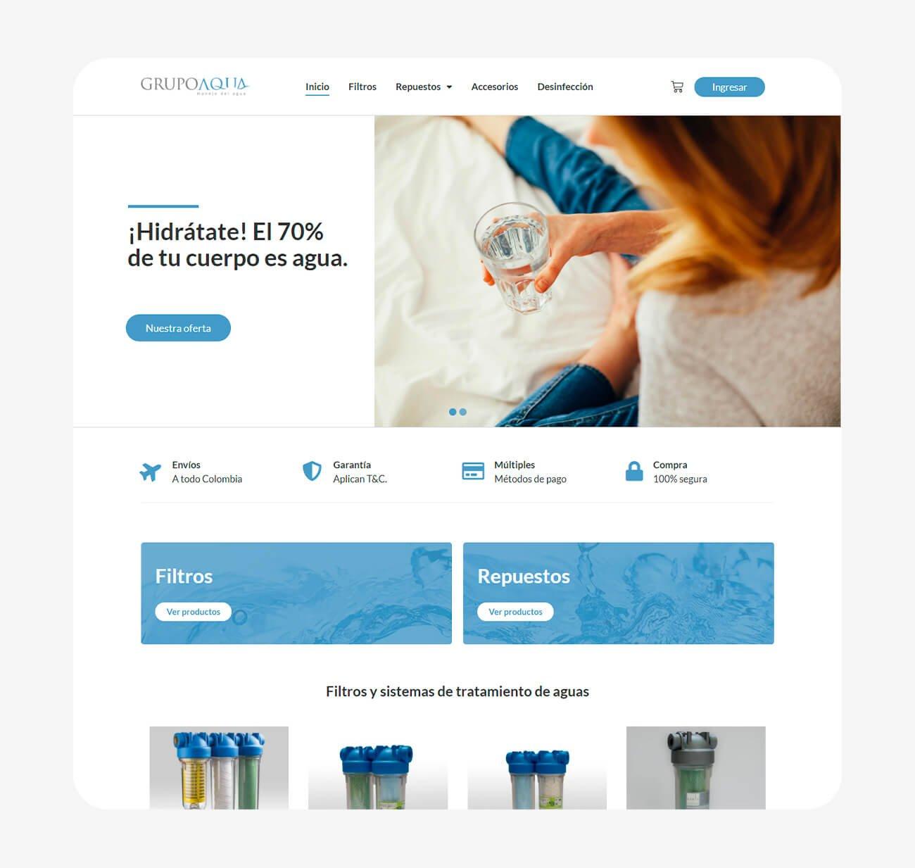 Tienda Grupo Aqua